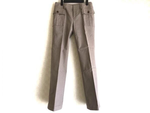 23区(ニジュウサンク) パンツ サイズ38 M レディース ライトブラウン