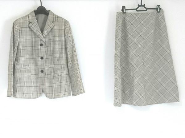 コムサデモード スカートスーツ サイズ13 L レディース美品  チェック柄