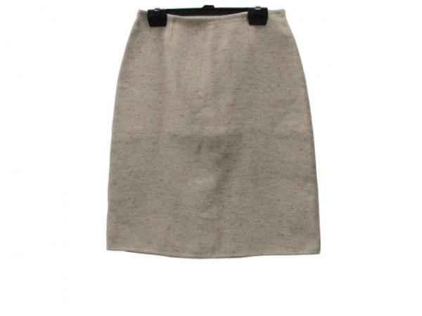 a4f21a04d432 セリーヌ スカート サイズ36 S レディース新品同様 ベージュ シルク混/FINITION MAIN