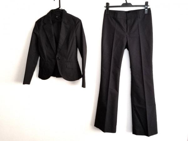 UNTITLED(アンタイトル) レディースパンツスーツ サイズ1 S レディース 黒