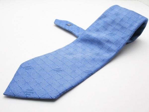 LOUIS VUITTON(ルイヴィトン) ネクタイ メンズ美品  ブルー