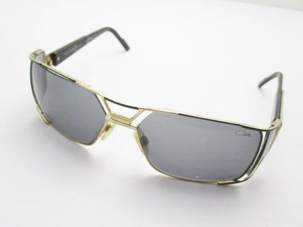 CAZAL(カザール) サングラス 932 黒×ゴールド プラスチック×金属素材