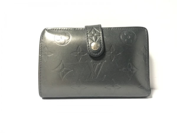 ルイヴィトン 2つ折り財布 モノグラムマット ポルト モネ・ビエ ヴィエノワ M65152