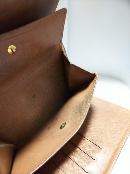 ルイヴィトン 3つ折り財布 モノグラム ポルト トレゾー・エテュイ パピエ M61202