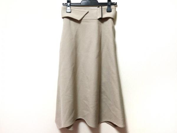 LEMAIRE(ルメール) ロングスカート サイズ34 S レディース美品  ベージュ
