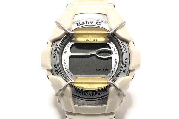 CASIO(カシオ) 腕時計 BG-1100 レディース ラバーベルト シルバー
