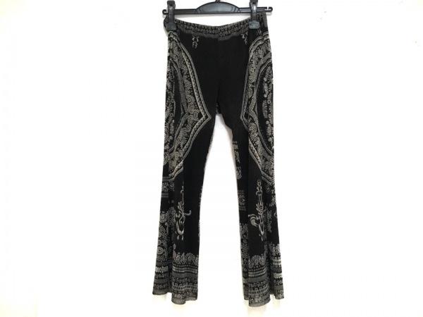 JeanPaulGAULTIER(ゴルチエ) パンツ サイズ40 M レディース 黒×ライトグレー 薄手