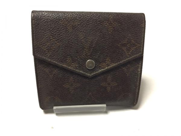 ルイヴィトン Wホック財布 モノグラム ポルトモネビエ 190 モノグラム・キャンバス