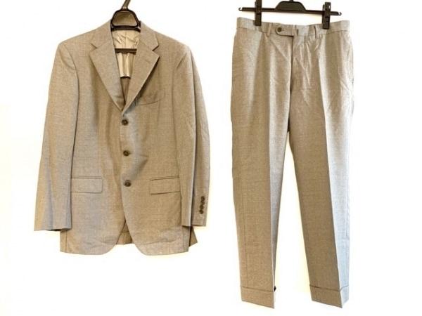 BEAMS F(ビームスエフ) シングルスーツ サイズ90 メンズ ライトグレー