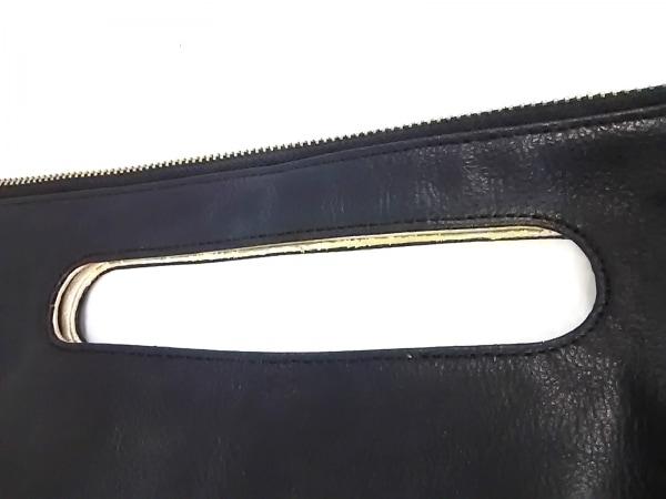 ガリャルダガランテ ハンドバッグ 黒×アイボリー 2WAY 合皮×化学繊維