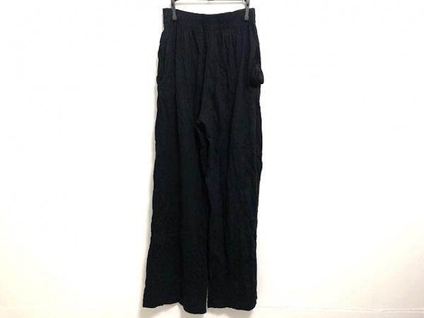 agnes b(アニエスベー) パンツ サイズ2 M レディース 黒