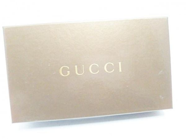GUCCI(グッチ) 長財布 GG柄 3661 ダークブラウン×黒×ゴールド レザー×金属素材