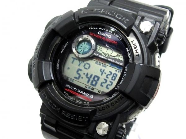 f1b0803036 CASIO(カシオ) 腕時計 G-SHOCK/フロッグマン GWF-1000 メンズ 黒の中古 ...