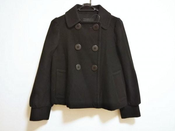 FLORENT(フローレント) コート レディース 黒 ショート丈