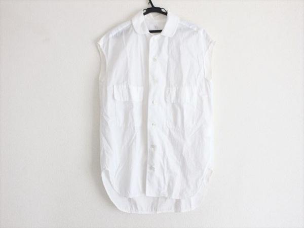 Y's(ワイズ) ノースリーブシャツブラウス サイズ2 M レディース 白