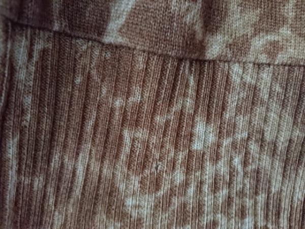 ドレスキャンプ ブルゾン サイズ38 M レディース ブラウン×ベージュ 春・秋物/豹柄