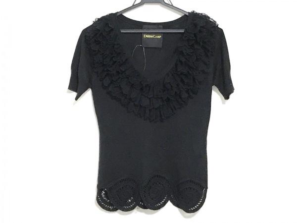 DRESS CAMP(ドレスキャンプ) 半袖カットソー サイズ38 M レディース 黒
