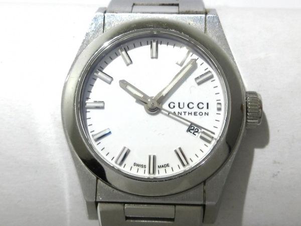 GUCCI(グッチ) 腕時計 パンテオン 115.5 レディース 白