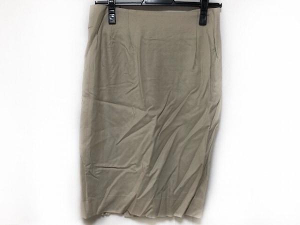 レキップ ヨシエイナバ スカート サイズ38 M レディース美品  ベージュ
