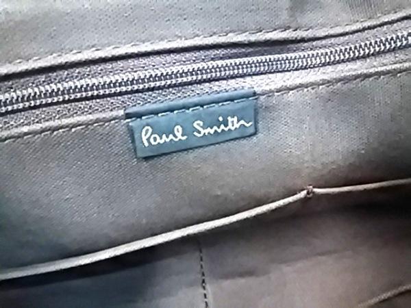 PaulSmith(ポールスミス) トートバッグ ライトブラウン×ブラウン キャンバス×レザー
