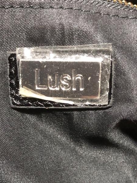 LUSH(ラッシュ) トートバッグ美品  黒 レザー