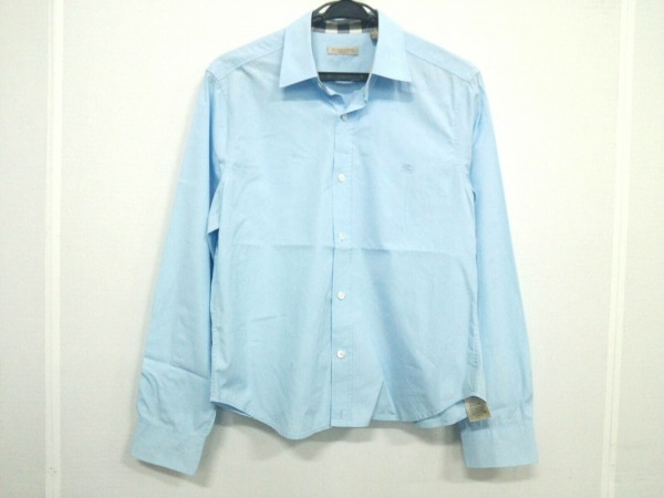 BURBERRY BRIT(バーバリーブリット) 長袖シャツ サイズM メンズ 3991160 ライトブルー