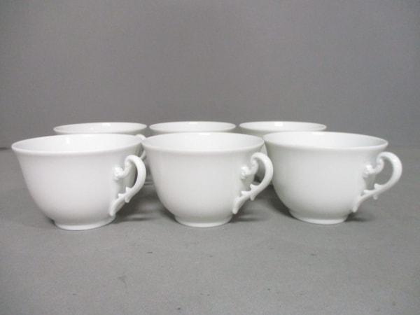 Richard Ginori(リチャードジノリ) 食器新品同様  白 ティーカップ×6 陶器