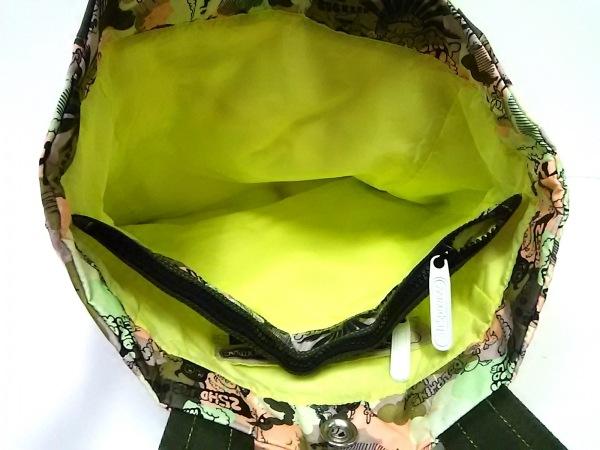 LESPORTSAC(レスポートサック) トートバッグ ライトグリーン×ライトグレー×マルチ