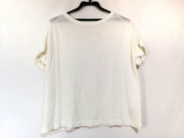 OPAQUE(オペーク) 半袖カットソー サイズ38 M レディース美品  白 タグ付き