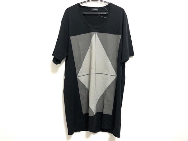 ラッドミュージシャン 半袖Tシャツ サイズ44 L メンズ 黒×グレー×ライトグレー