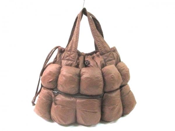 SALCO(サルコ) トートバッグ ダークブラウン キルティング ナイロン