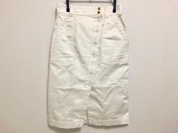 Pinky&Dianne(ピンキー&ダイアン) スカート サイズ36 S レディース美品  白