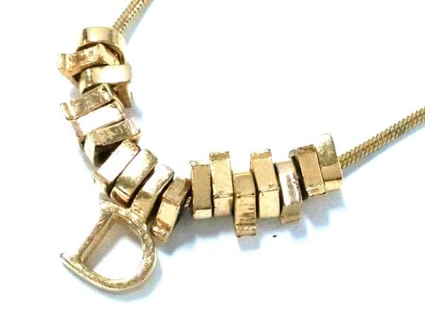 ChristianDior(クリスチャンディオール) ネックレス 金属素材 ゴールド Dモチーフ