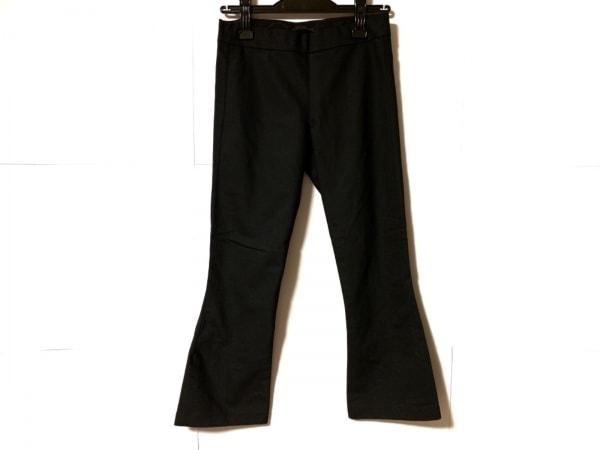 THE ROW(ザロウ) パンツ サイズXS レディース美品  黒 たぐ付き