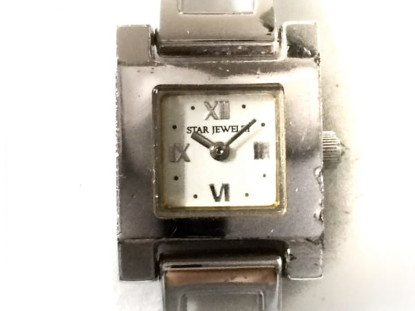 STAR JEWELRY(スタージュエリー) 腕時計 不鮮明 レディース シルバー