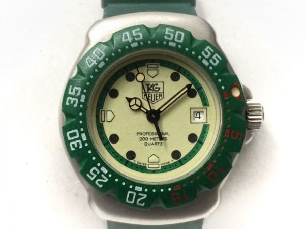 タグホイヤー 腕時計 プロフェッショナル200 372.508 レディース ラバーベルト