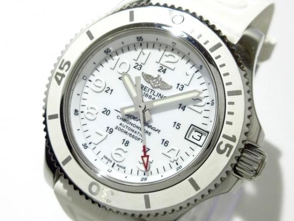 ブライトリング 腕時計 スーパーオーシャン2 36 A17312D2/A775 レディース 白