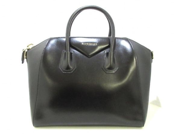GIVENCHY(ジバンシー) ハンドバッグ美品  アンティゴナ 黒 レザー