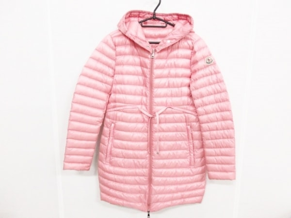 モンクレール ダウンコート サイズ3 L レディース美品  BARBEL 49312-99-53048 ピンク
