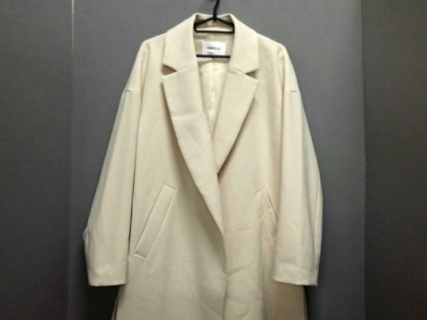 ENFOLD(エンフォルド) コート サイズ38 M レディース美品  アイボリー 冬物