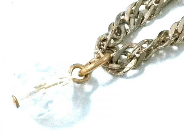 ピンキー&ダイアン ネックレス 金属素材×フェイクパール×プラスチック