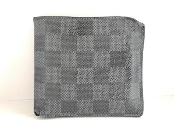 ルイヴィトン 2つ折り財布 ダミエグラフィット ポルトフォイユ・マルコNM N62664