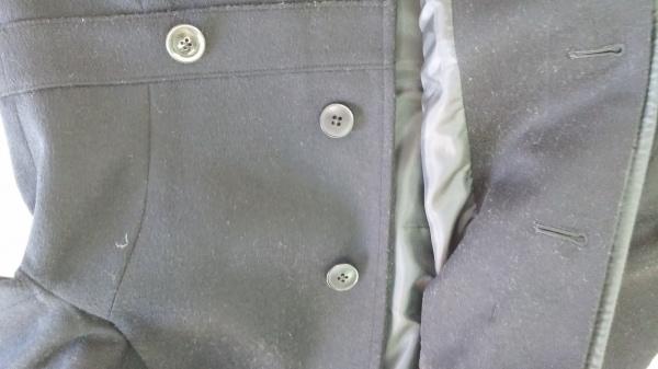BEAMS Lights(ビームスライツ) コート サイズ36 S レディース美品  黒 冬物