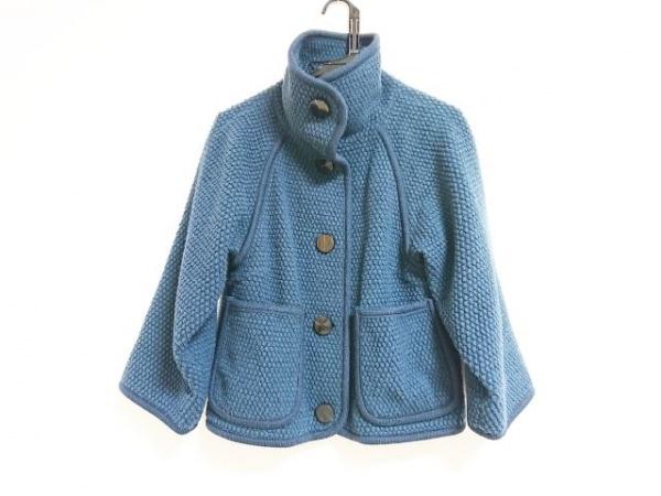 ポールスミスプラス ジャケット サイズ40 L レディース ネイビー 冬物