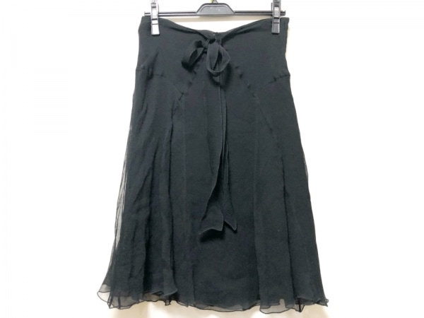 BLUMARINE ANNA MOLINARI(ブルマリン・アンナモリナーリ) スカート レディース 黒