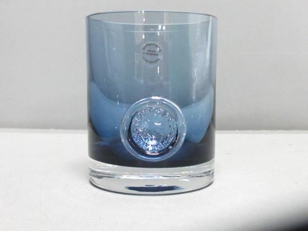 TIFFANY&Co.(ティファニー) 食器新品同様  - ブルー ウォーターグラス ガラス