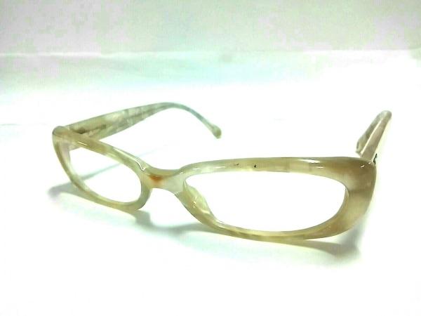 CHANEL(シャネル) メガネ 3069-H アイボリー ココマーク プラスチック×金属素材