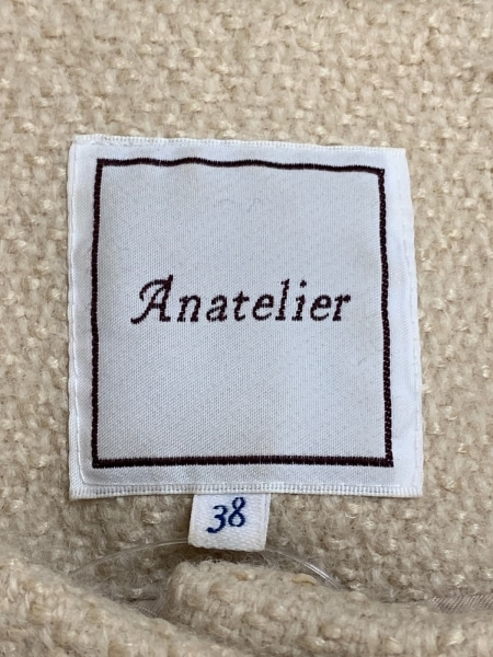 anatelier(アナトリエ) コート サイズ38 M レディース ベージュ 冬物