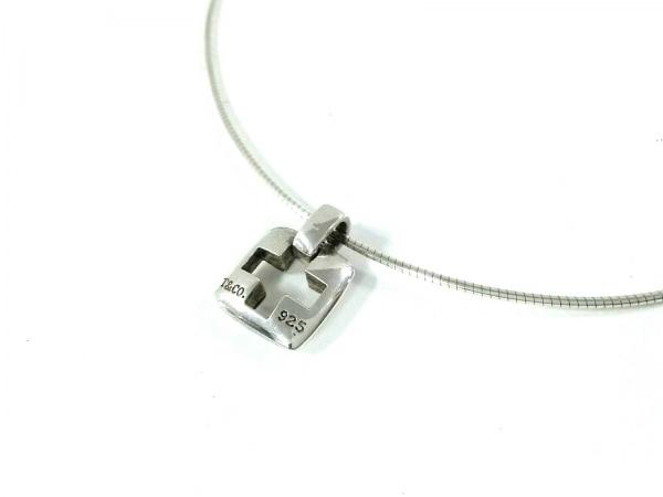 TIFFANY&Co.(ティファニー) ネックレス美品  ピアスドクロス シルバー