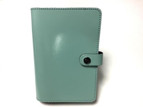 Filofax(ファイロファックス) 手帳美品  ライトブルー レザー